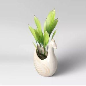 "4"" Earthen Bird Planter from Opalhouse"